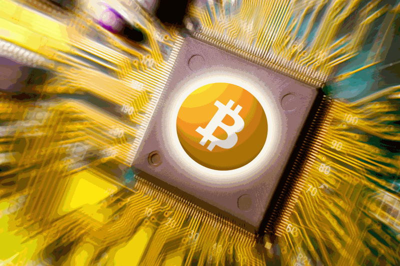 Bitcoin cloud mining contracts logo