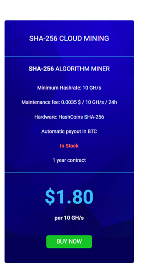 Hashflare bitcoin cloud mining contracts price chart
