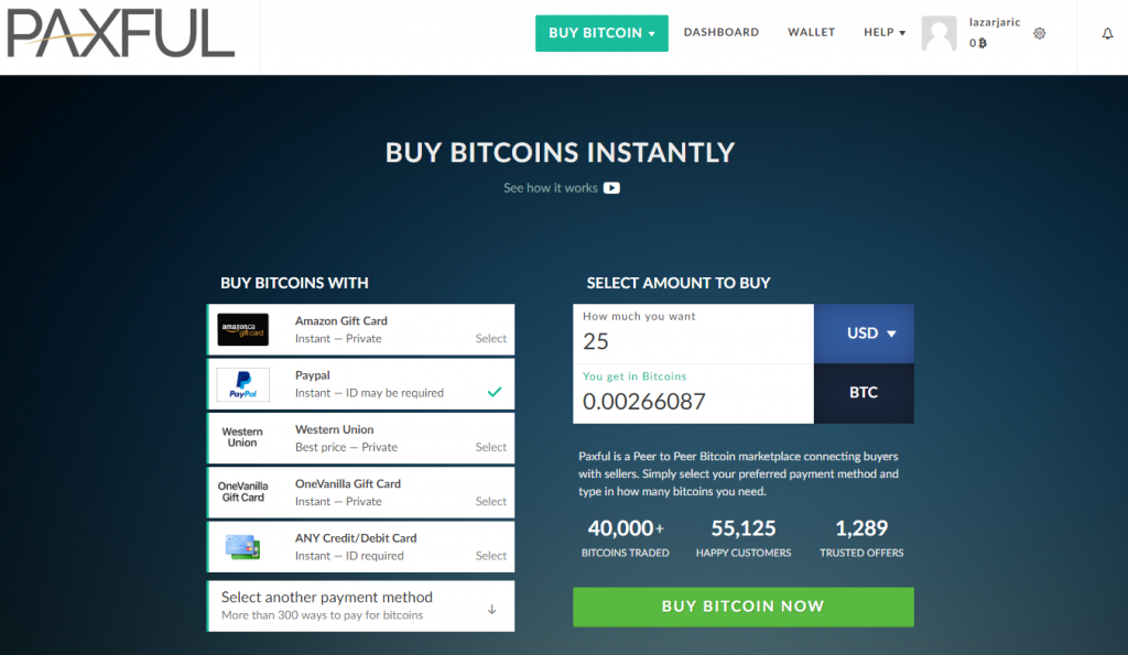 Buy Cloud Mining with PayPal step-by-step